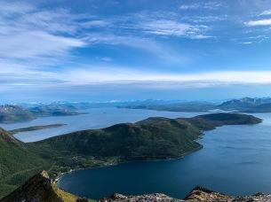 Skrovkjosen, Skarberget and Tysfjord